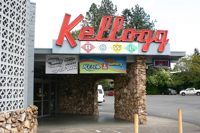 Kellogg Bowl in Milwaukie, near Portland Oregon.
