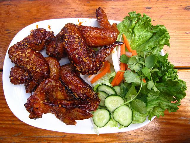 Voted again and again as one of the top, iconic dishes of Portland. Pok Pok's Vietnamese chicken wings. (Image courtesy, H.L.I.T.)