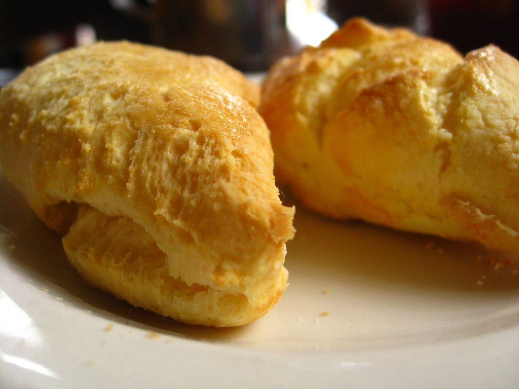 Scones at Zell's, a favorite brunch spot in Portland. Image courtesy, eyeliam