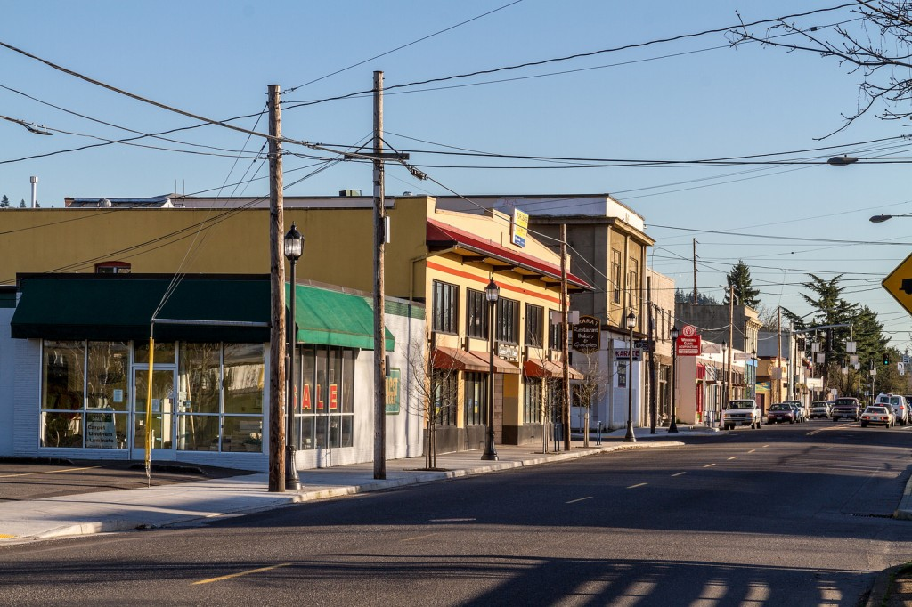 Lents Town Center in Southeast Portland, Oregon. Image Courtesy, Twelvism https://www.flickr.com/photos/twelvizm/