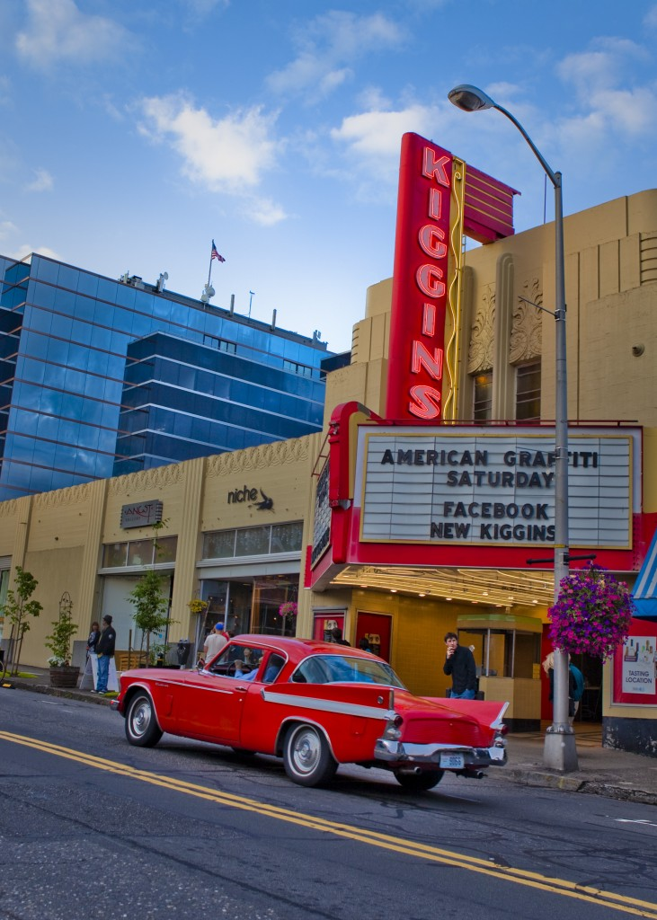 Blast from the Past... Kiggins Theatre in Downtown Vancouver, Washington. Image Courtesy of Visit Vancouver USA.